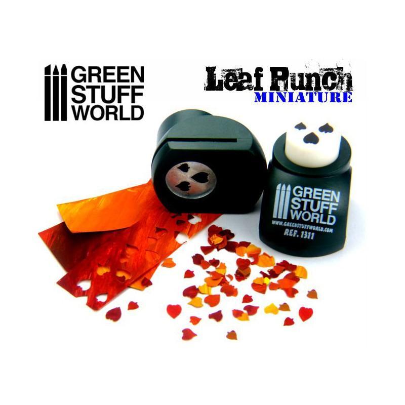 Miniature Leaf Punch DARK GREEN 1311