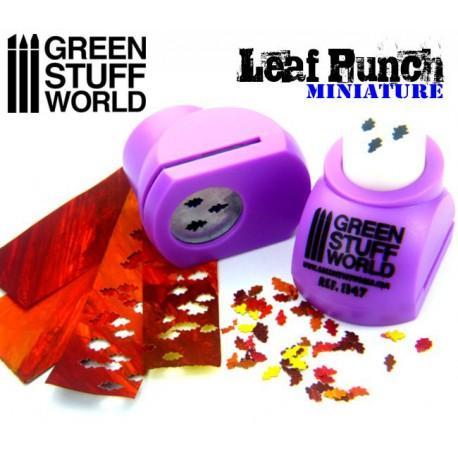 Miniature Leaf Punch LIGHT PURPLE 1347