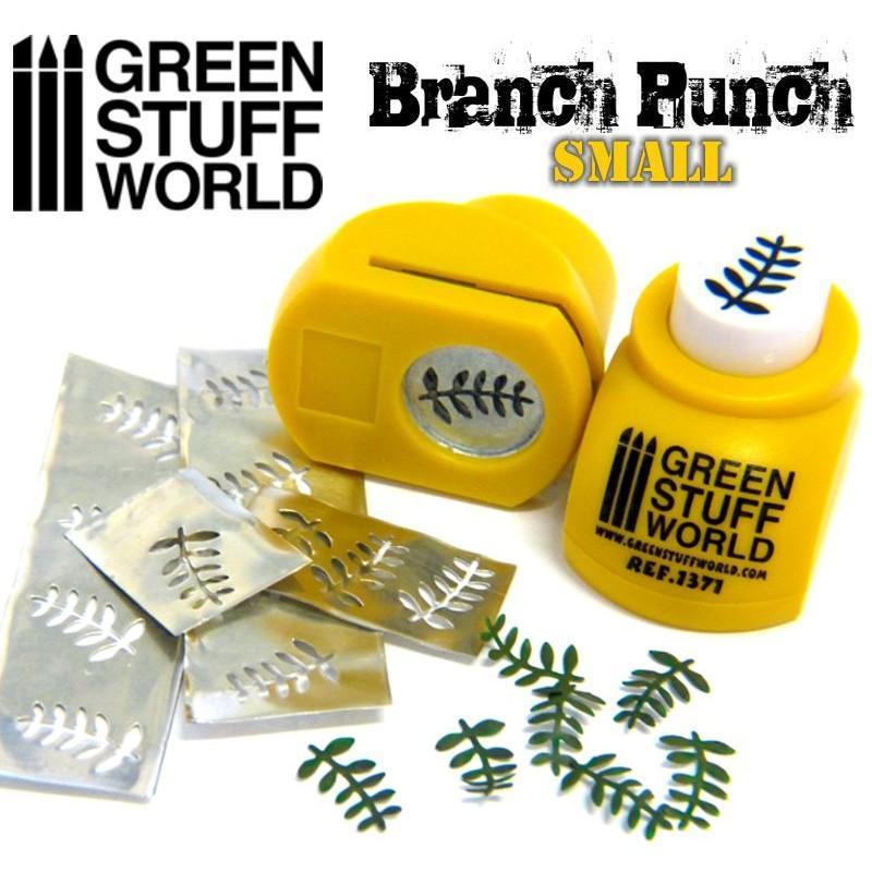 Miniature Branch Punch YELLOW 1371