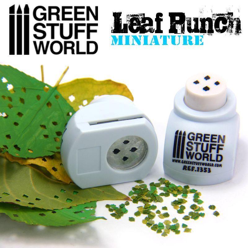 Miniature Leaf Punch LIGHT BLUE 1353
