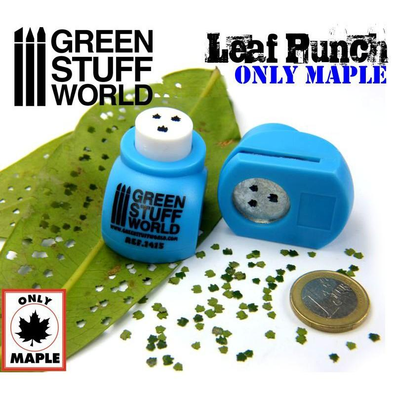 Miniature Leaf Punch MEDIUM BLUE 1415