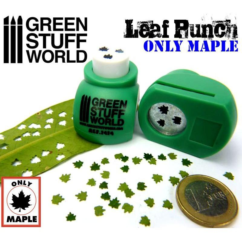 Miniature Leaf Punch MEDIUM GREEN 1414