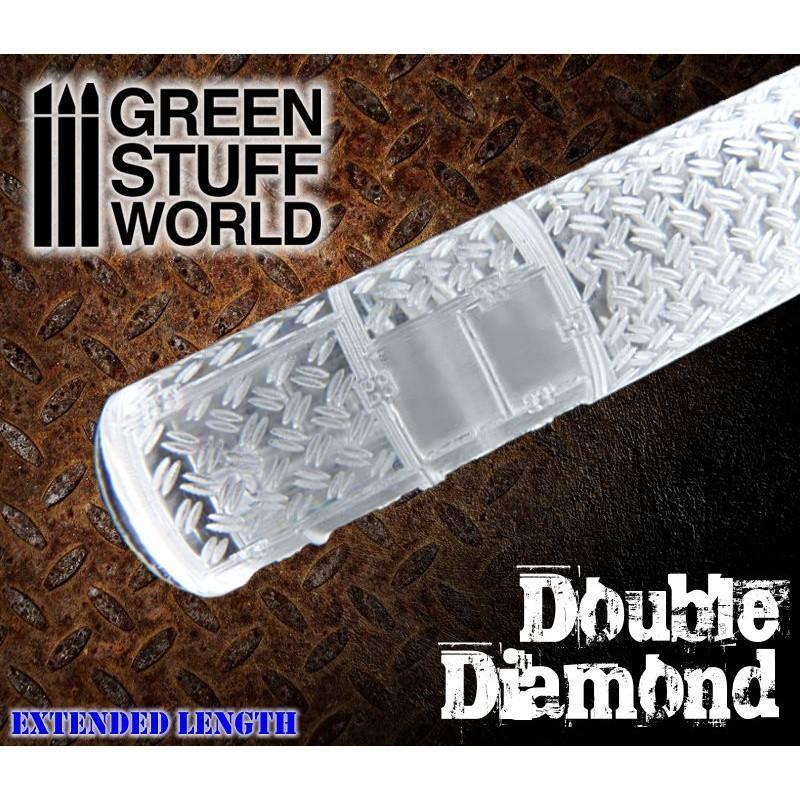 Rolling Pin Double Diamond 1164