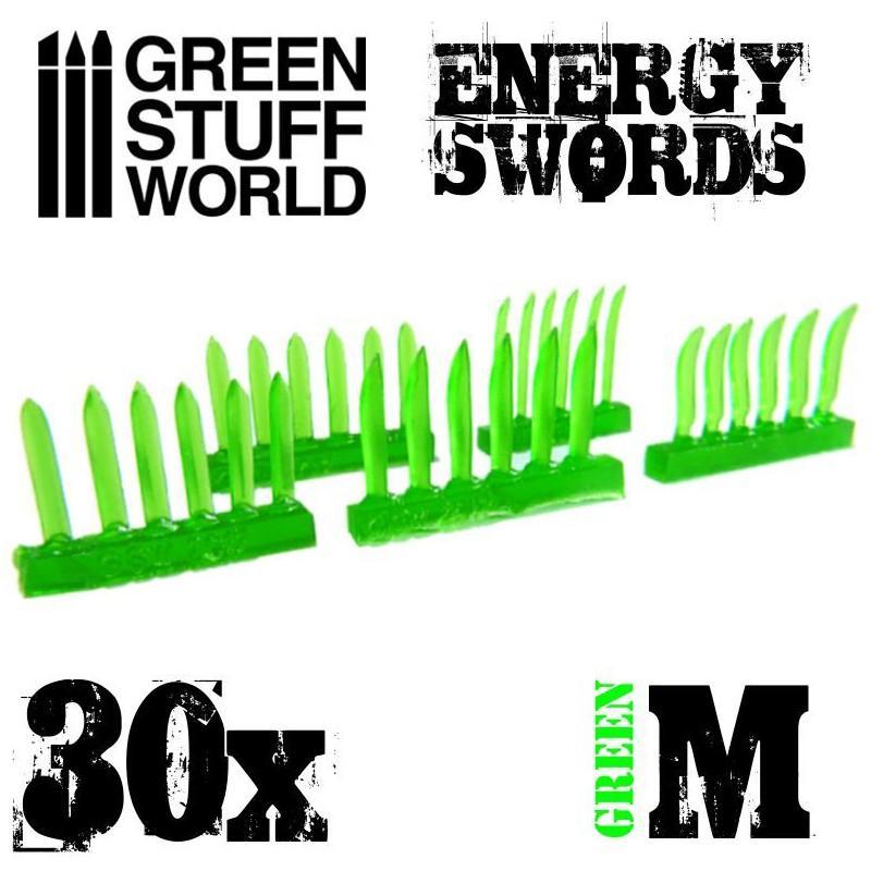 GREEN Energy Swords - Size M