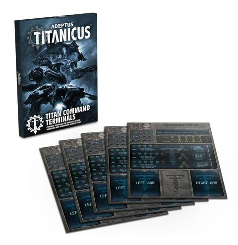 Adeptus Titanicus Titan Command Terminals