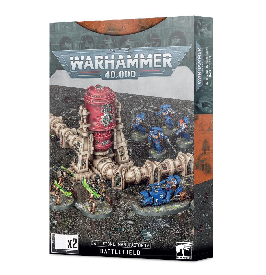 Warhammer 40,000: Battlezone Manufactorum Battlefield