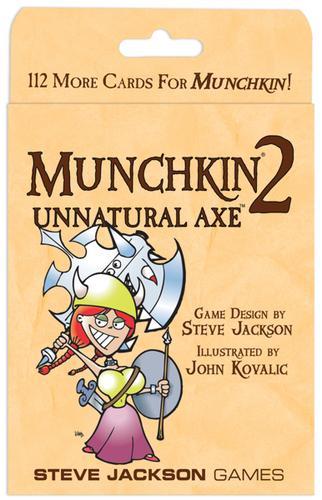 Munchkin 2: Unnatural Axe (Colour)