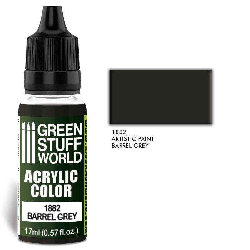 Acrylic Color BARREL GREY