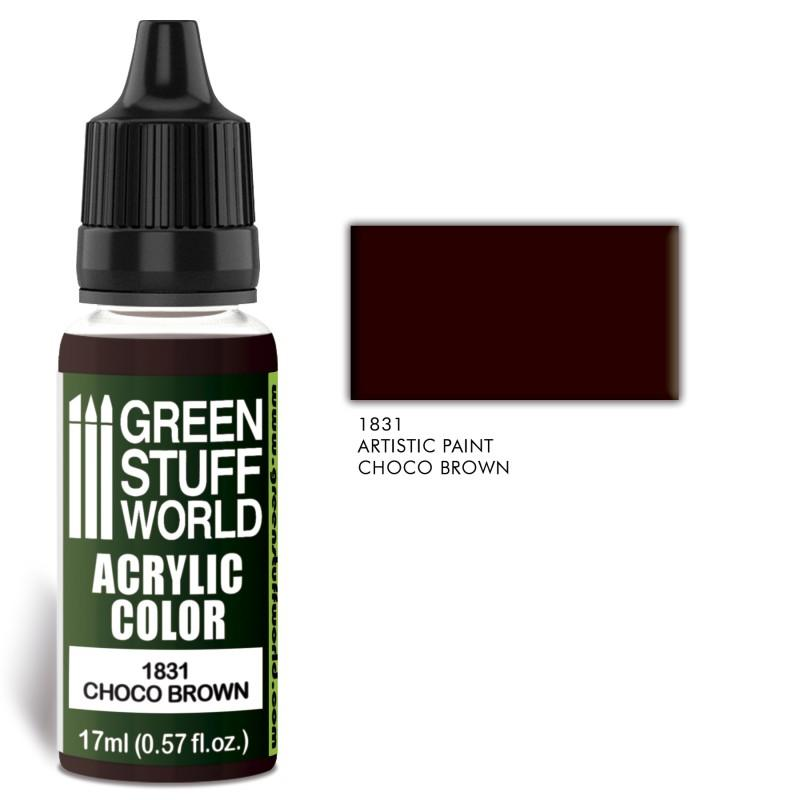 Acrylic Color CHOCO BROWN