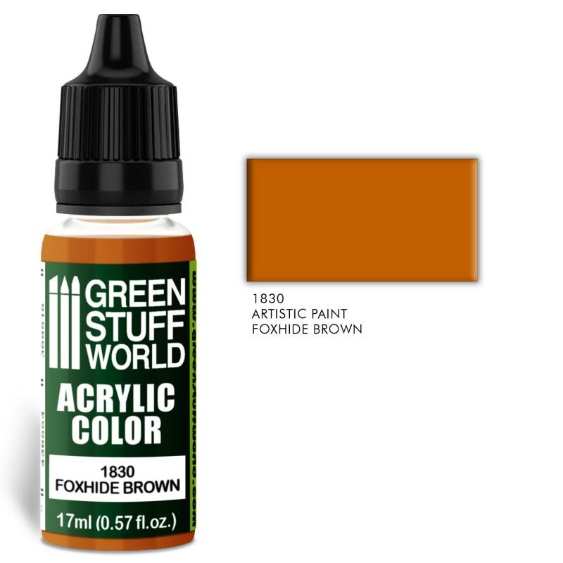 Acrylic Color FOXHIDE BROWN