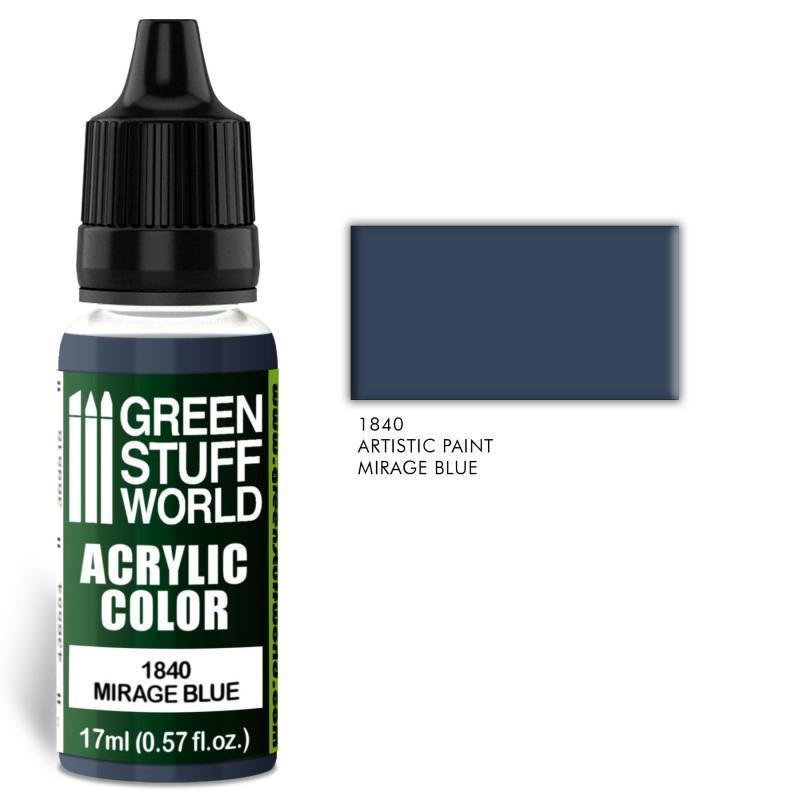 Acrylic Color MIRAGE BLUE