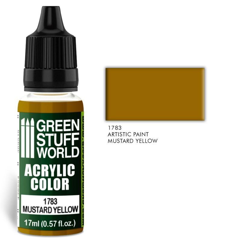 Acrylic Color MUSTARD YELLOW