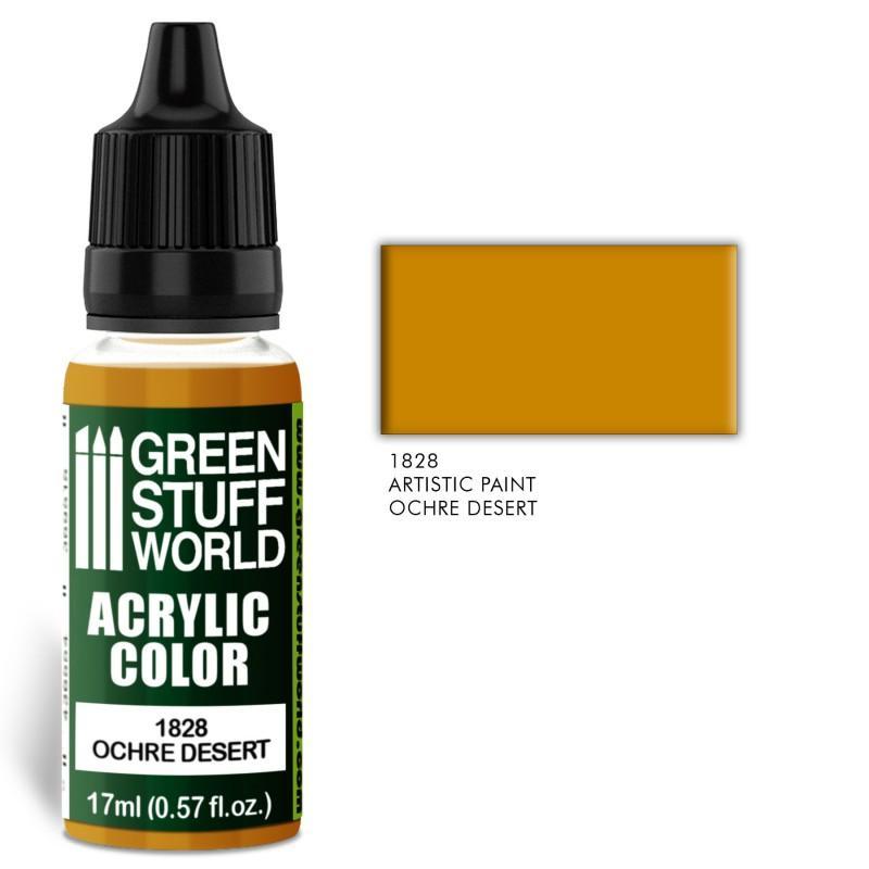 Acrylic Color OCHRE DESERT