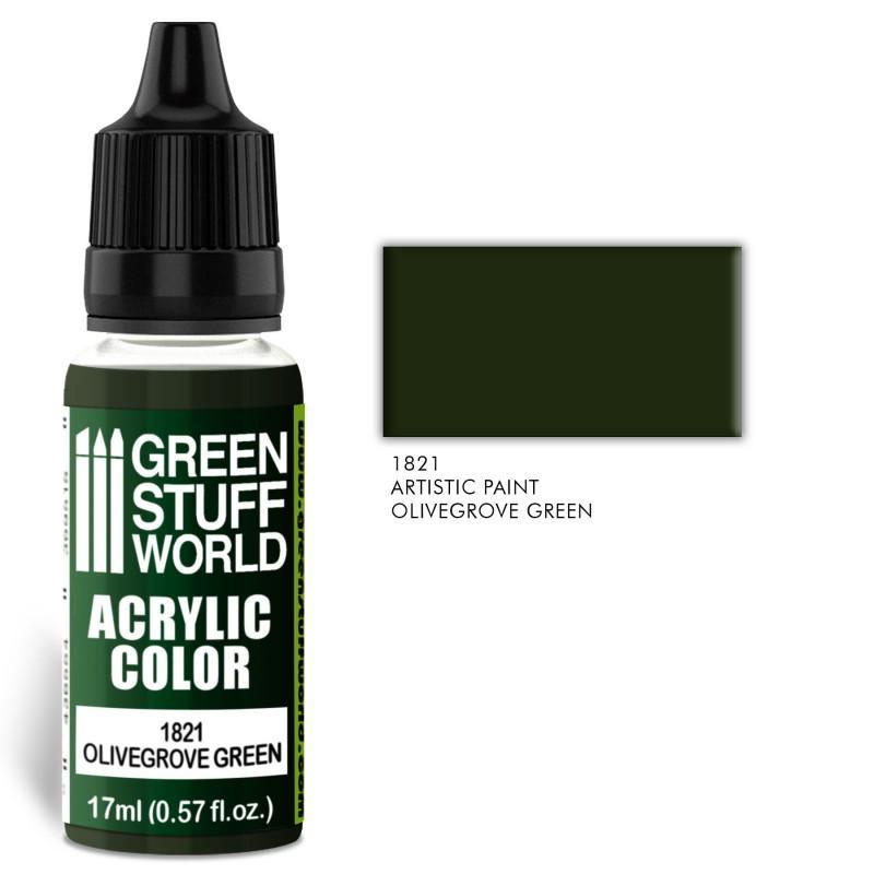 Acrylic Color OLIVEGROVE GREEN