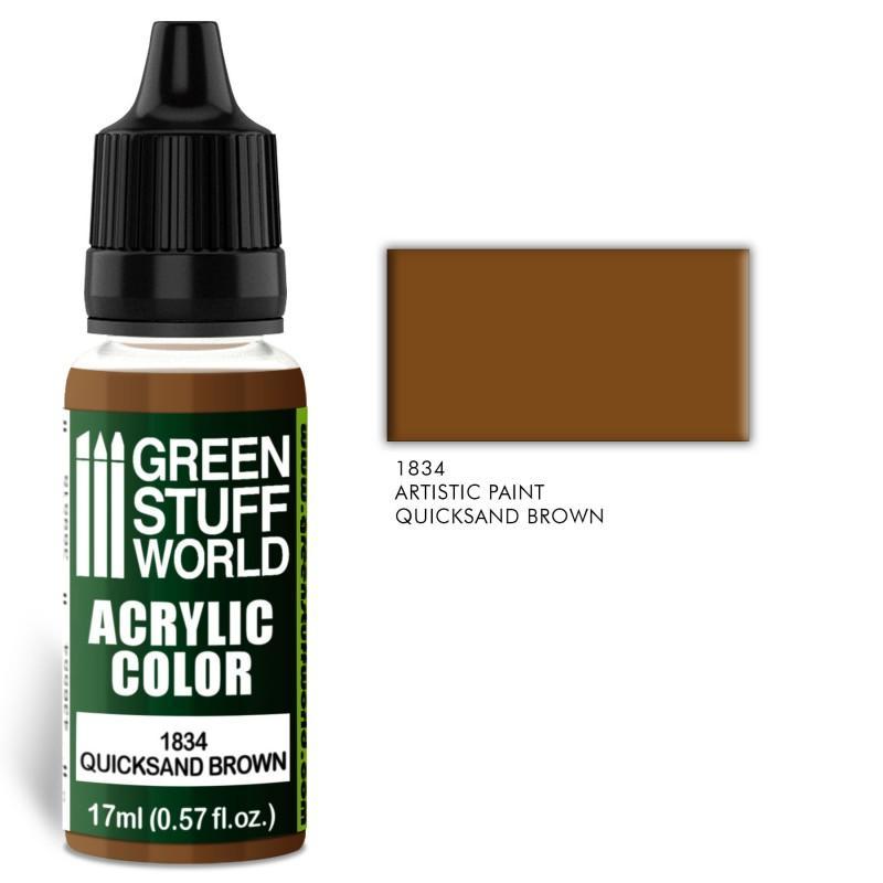 Acrylic Color QUICKSAND BROWN