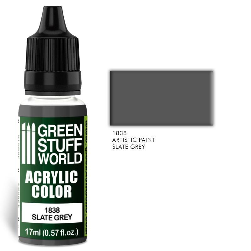 Acrylic Color SLATE GREY