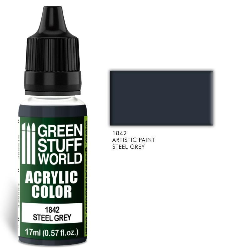 Acrylic Color STEEL GREY