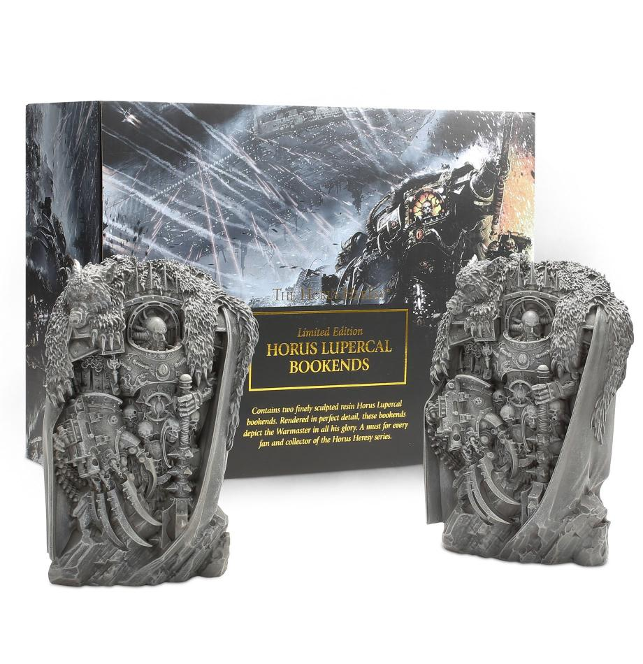 Black Libary: Horus Heresy Book Ends