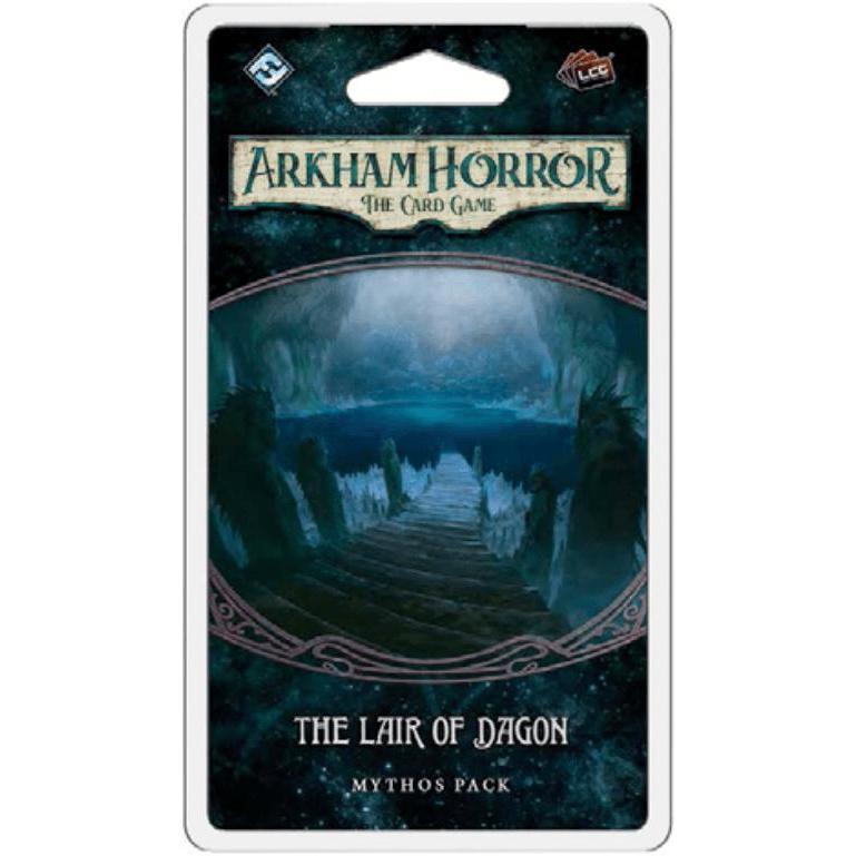 The Lair of Dagon- Mythos Pack: Arkham Horror LCG Exp.