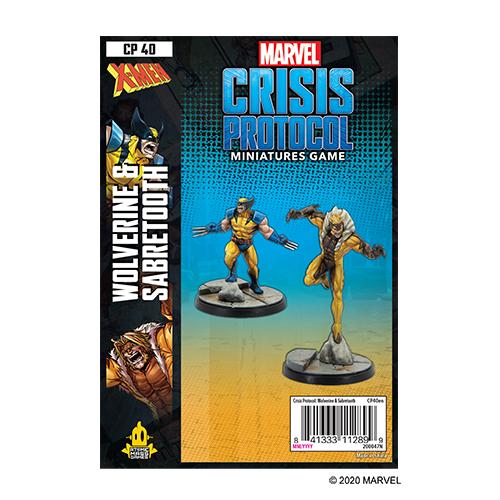 Wolverine and Sabretooth: Marvel Crisis Protocol