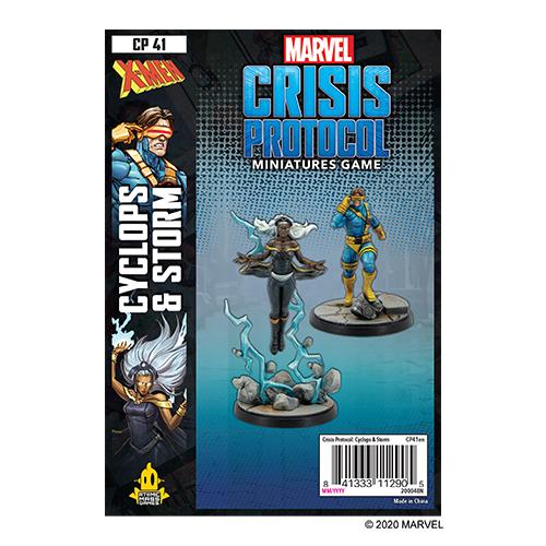 Storm and Cyclops: Marvel Crisis Protocol