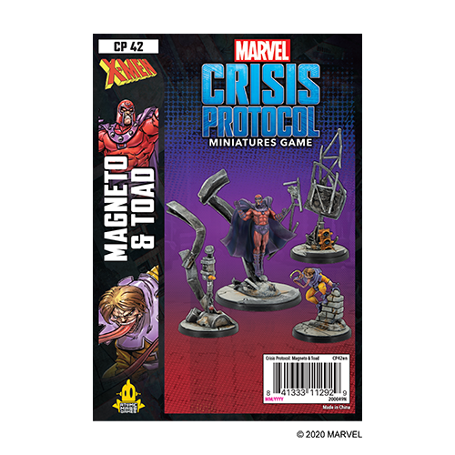 Mageneto and Toad: Marvel Crisis Protocol