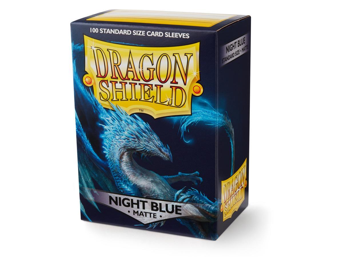Dragon Shield Sleeves Matte Night Blue (100)