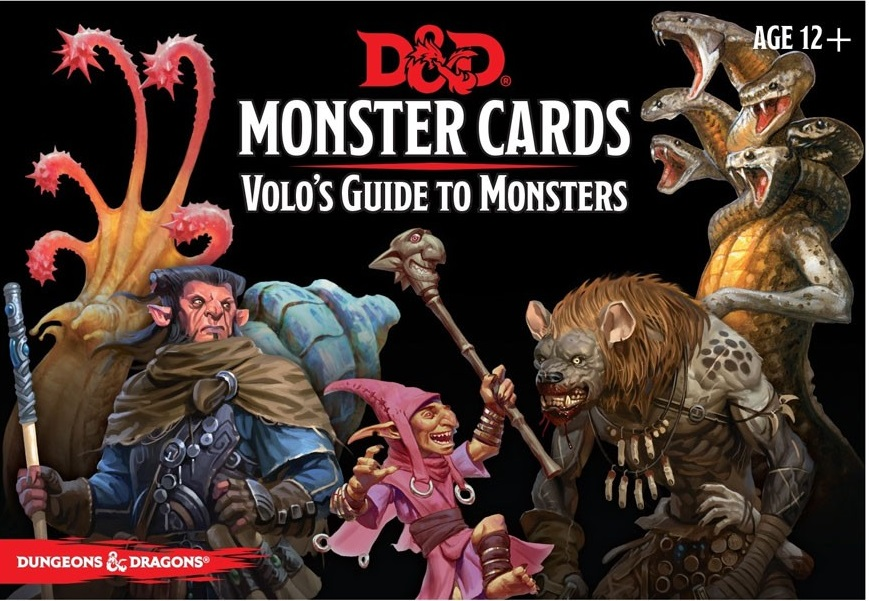 Monster Cards: Volo's Guide to Monsters (81 cards)