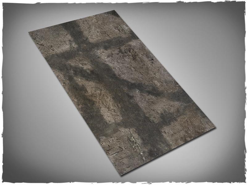 Gothic Ruins - 44x30 Cloth