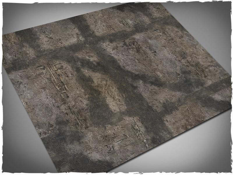 Gothic Ruins - 44x60 Vinyl