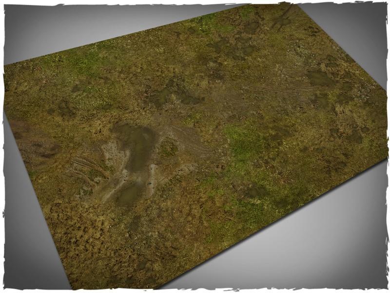 Muddy Fields - 22x30 Mousepad