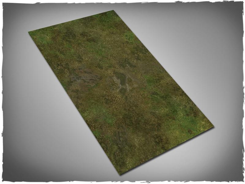 Muddy Fields - 44x30 Mousepad
