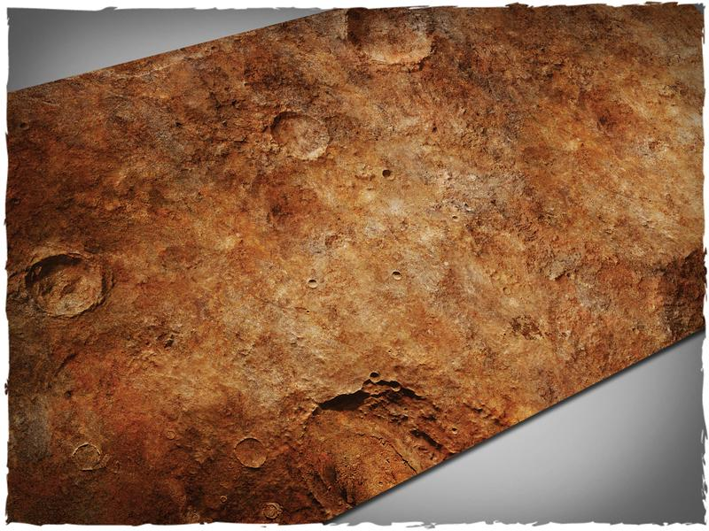 Red Planet - 44x90 Mousepad