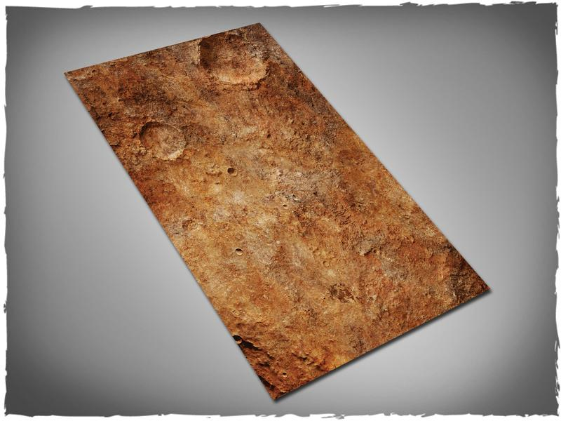 Red Planet - 44x30 Cloth