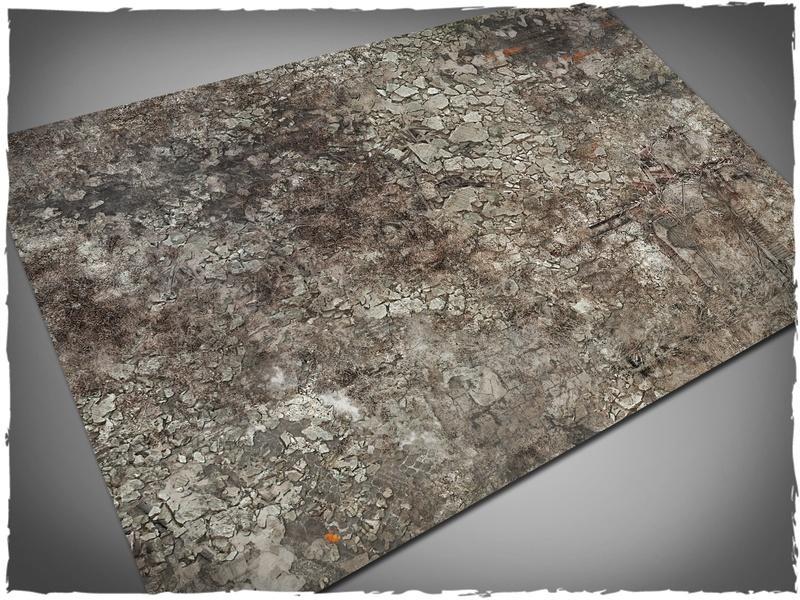 Urban Ruins - 22x30 Mousepad