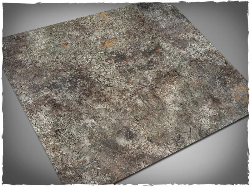 Urban Ruins - 44x60 Mousepad