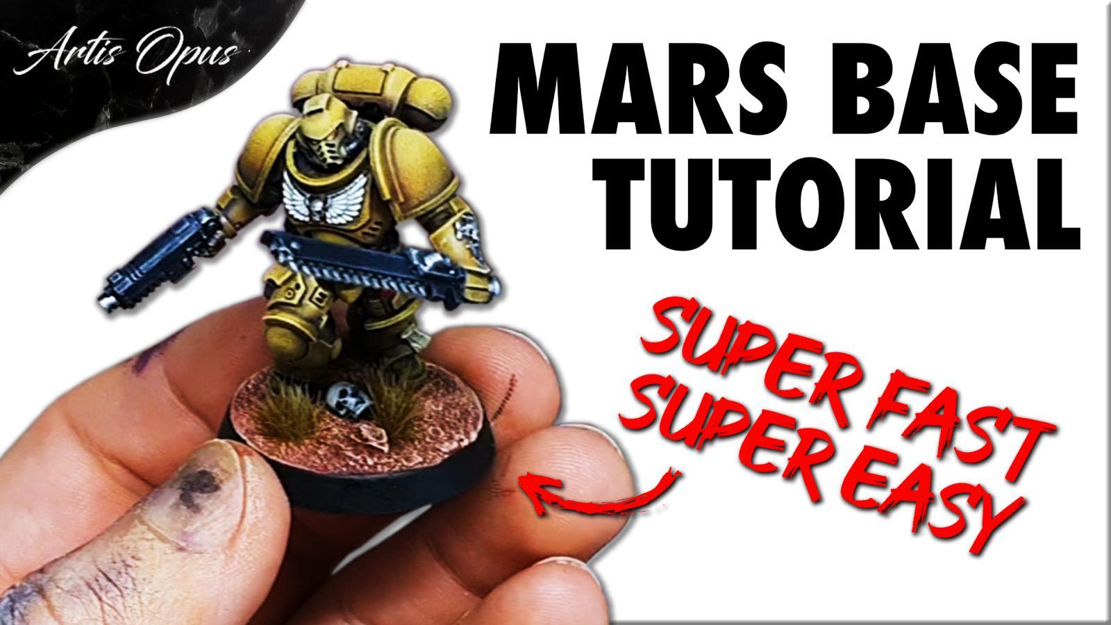 Artis Opus Mars Basing Bundle