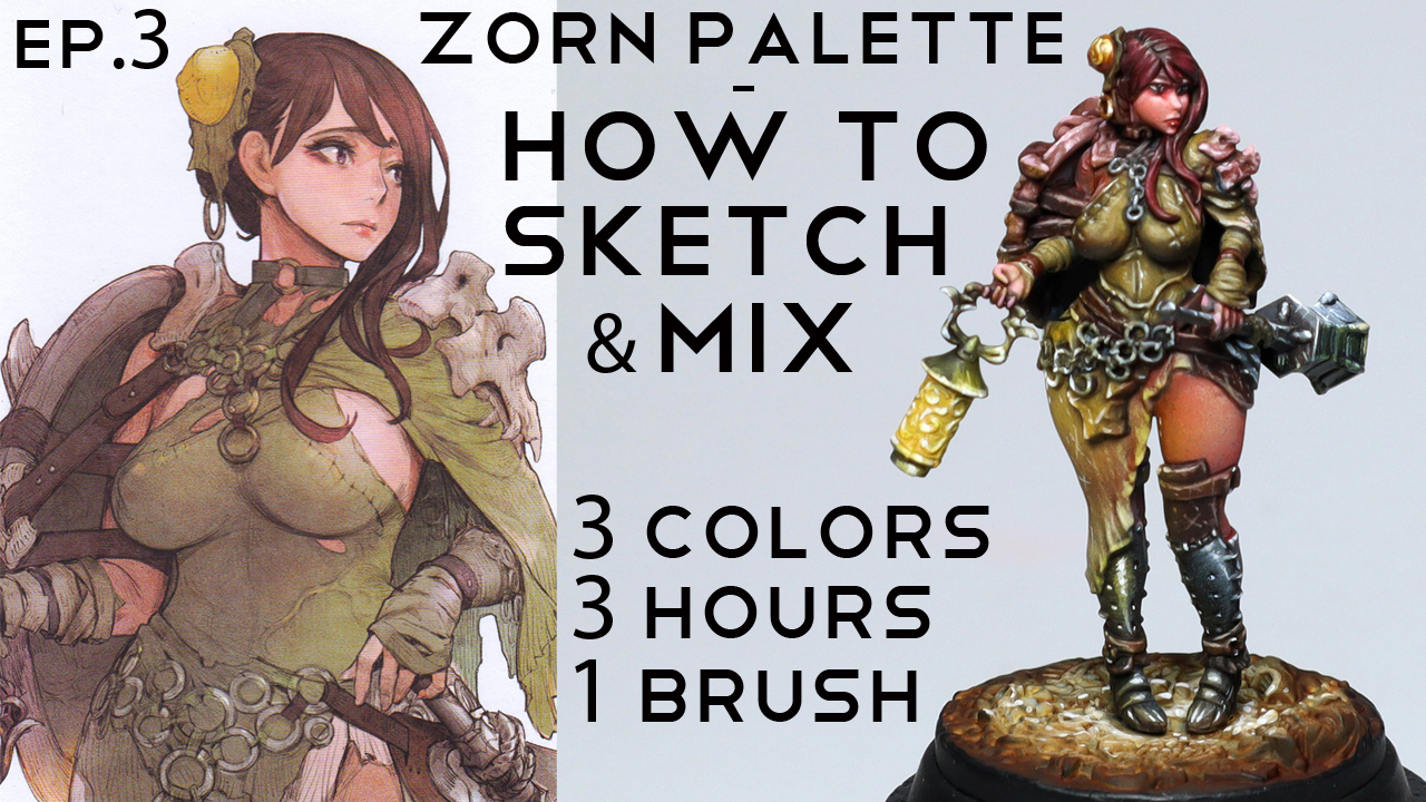Zorn limited palette - ultimate kit