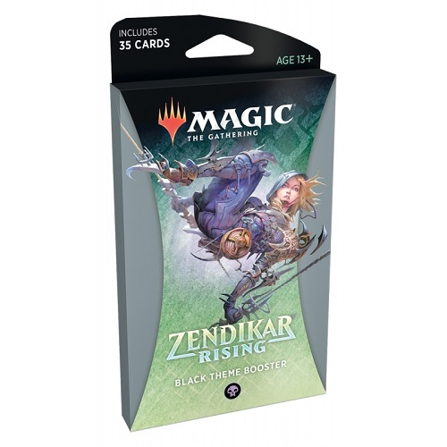 MTG: Zendikar Rising Theme Booster - Black