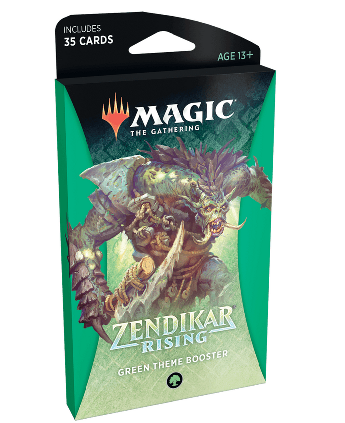 MTG: Zendikar Rising Theme Booster - Green