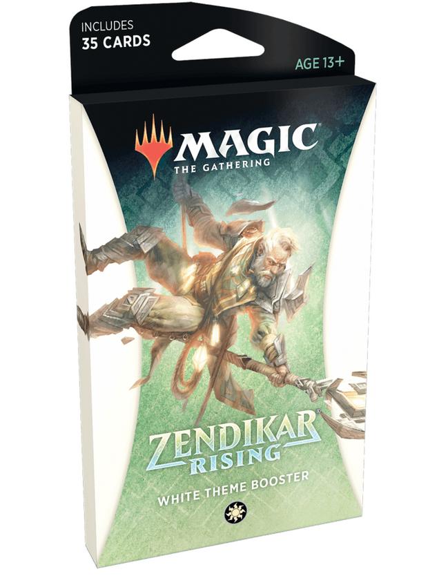 MTG: Zendikar Rising Theme Booster - White