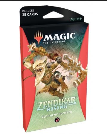 MTG: Zendikar Rising Theme Booster - Red