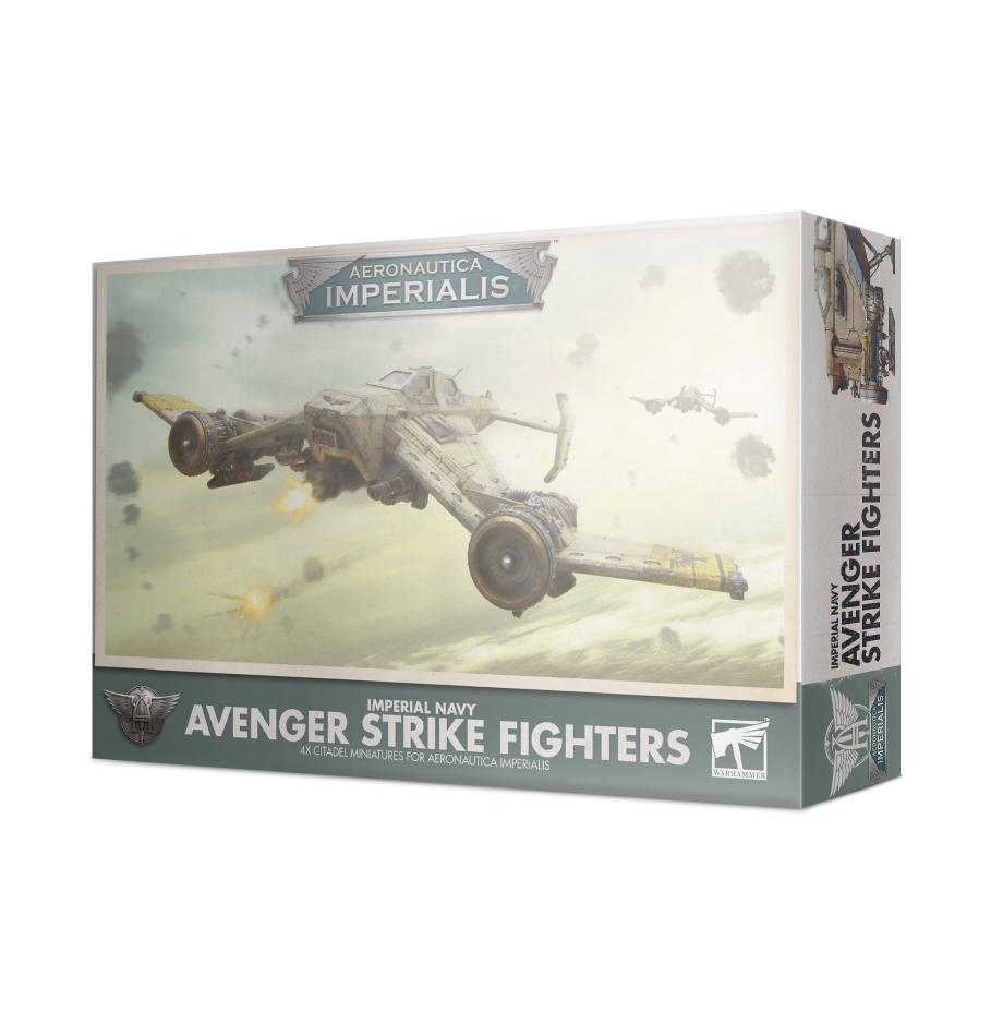 Aeronautica Imperialis: Imperial Navy Avenger Strike Fighters