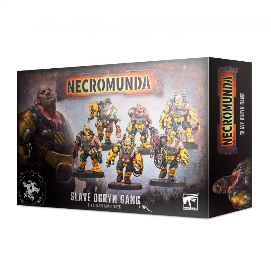 Necromunda Slave Ogryn Gang