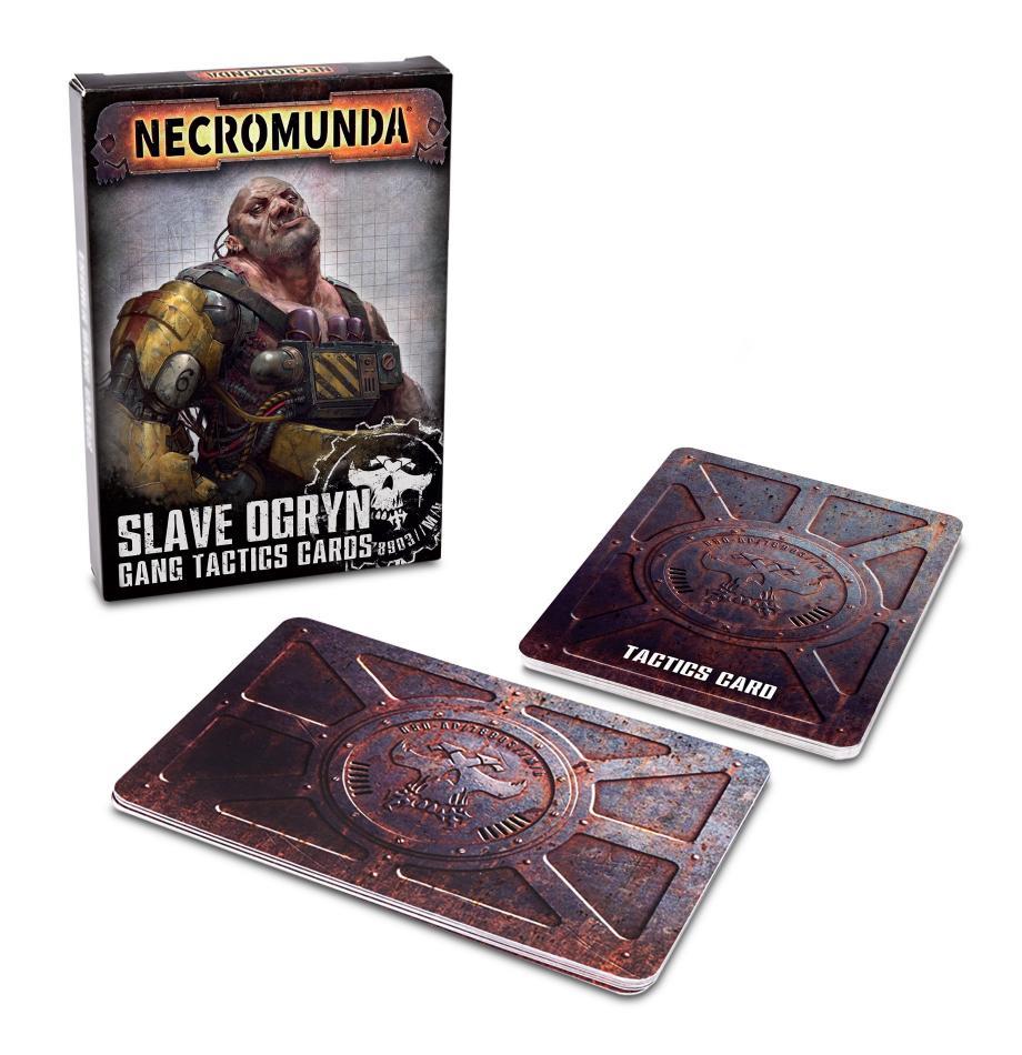 Necromunda: Slave Ogryn Tactics Cards