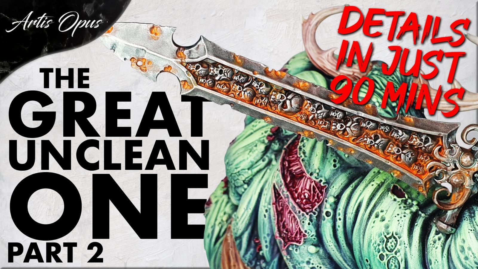 Artis Opus Great Unclean One pt2 Bundle