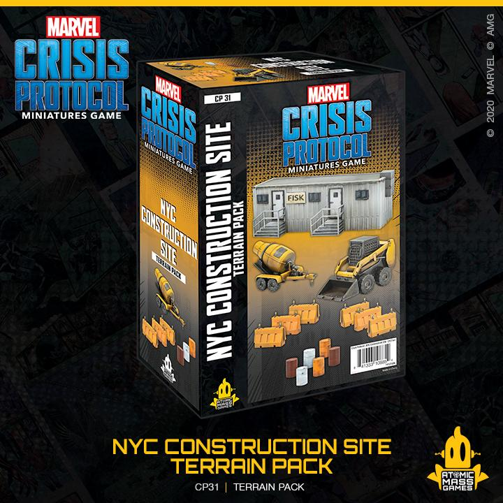 Marvel Crisis Protocol: NYC Construction Site Terrain Expansion