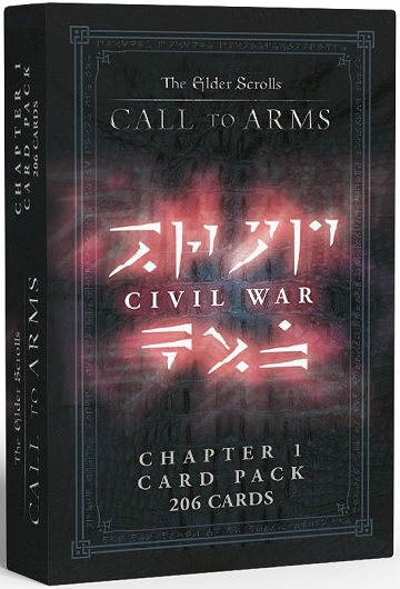 The Elder Scrolls: Call to Arms - Chapter One Card Pack Civil War