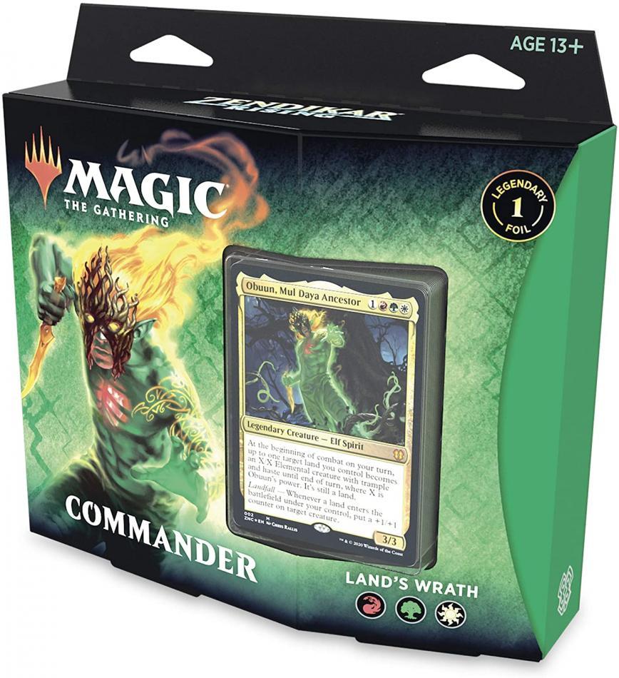 MTG: Zendikar Rising Commander Deck - Land's Wrath