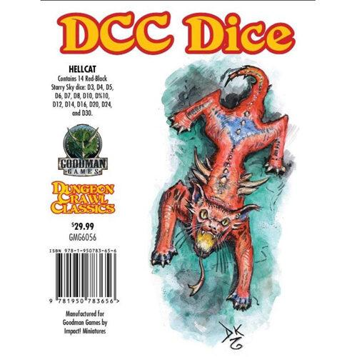 Hellcat Dice: Dungeon Crawl Classics RPG